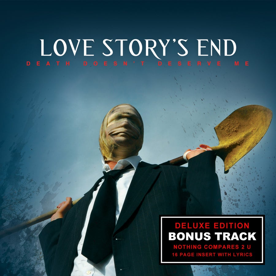"Image of Love Story's End - ""Death Doesn't Deserve Me"" Deluxe Edition CD"