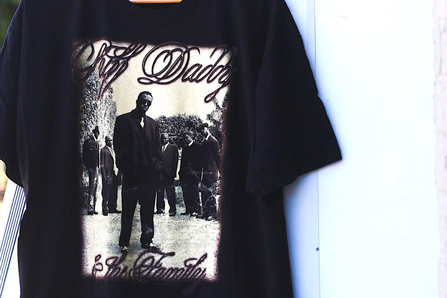 "Image of Rare 1997 Vintage ""Puff Daddy & The Family- No Way Out"" World Tour Rap Tee"