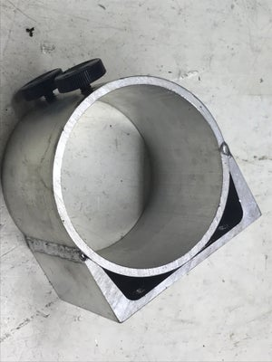 "Image of Aluminum  Clamp for R2200 3 5/8"" dia router or any 3.5"" dia router."