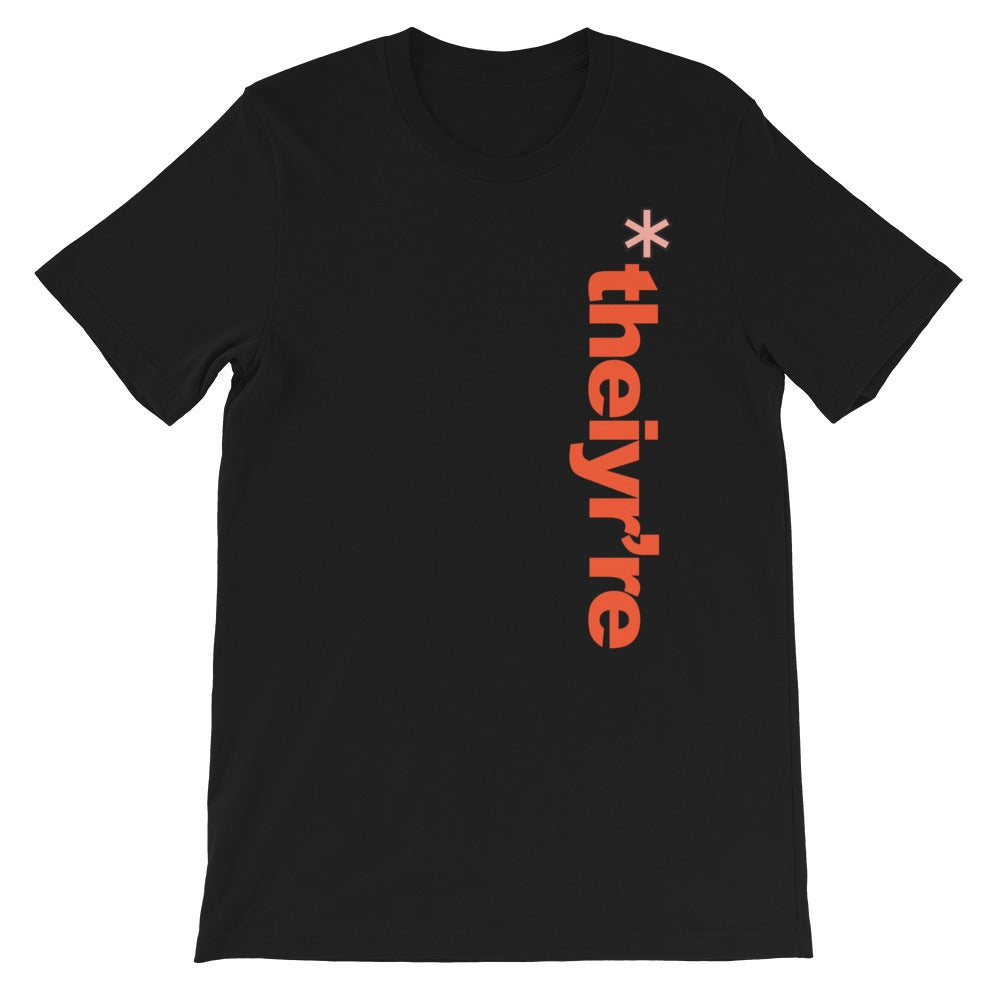 Image of JULY DROP - theiyre' sideways tee