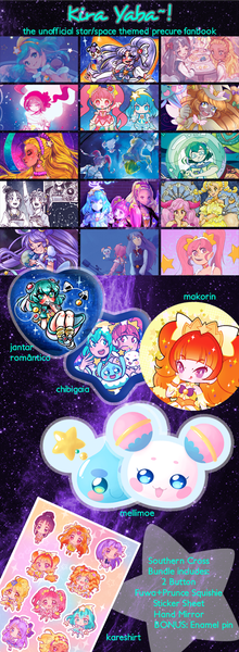 Image of PRE-ORDER - Kira Yaba~☆!: Unofficial Star/Space themed Precure Fanbook - Southern Cross Bundle
