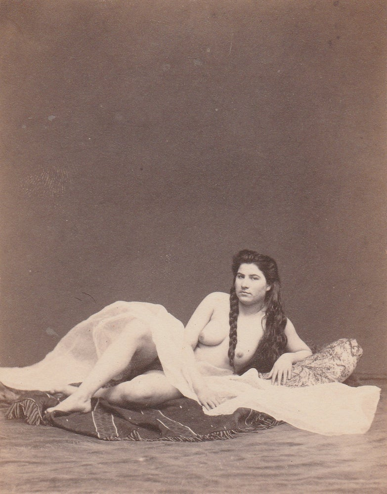 Image of Anonymous: female nude study, ca. 1875