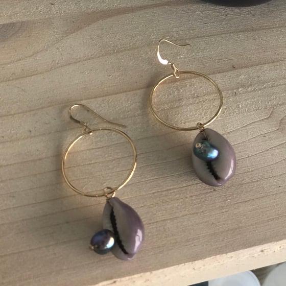 Image of Cabya - Boucles d'oreilles - 14 carats