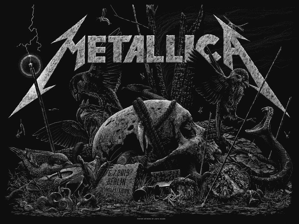 Image of »METALLICA« Gig Poster