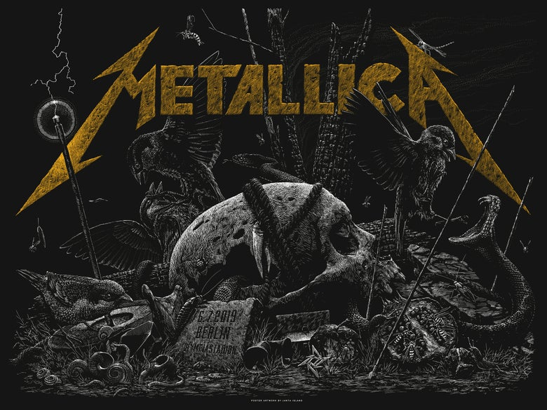 Image of »METALLICA« Gig Poster #2