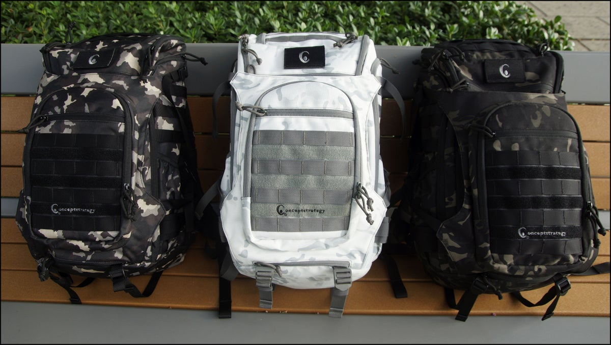 Image of THE URBAN SPACE PACK ❼™ BY CS (Bark II Camo)