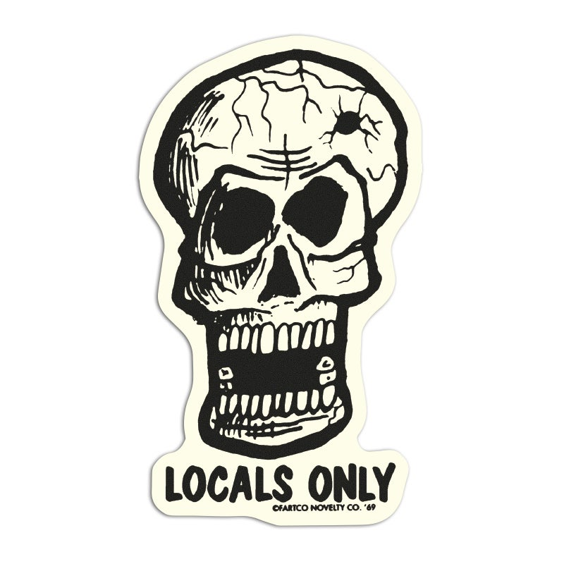 Image of Locals Only Sticker