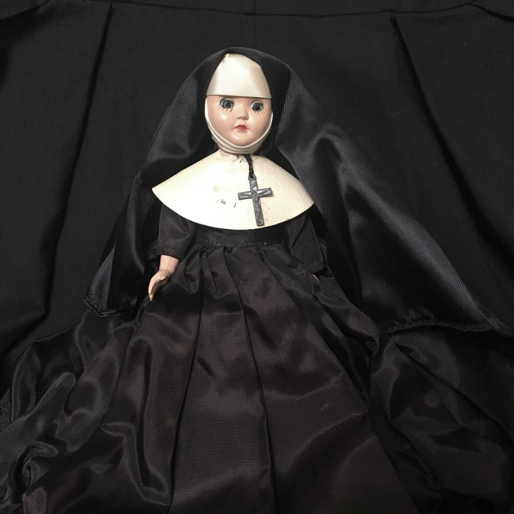 Image of Sleepy Eyes Nun Doll