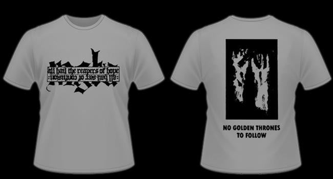 Image of MGŁA - 'Reapers of hope' men's t-shirt