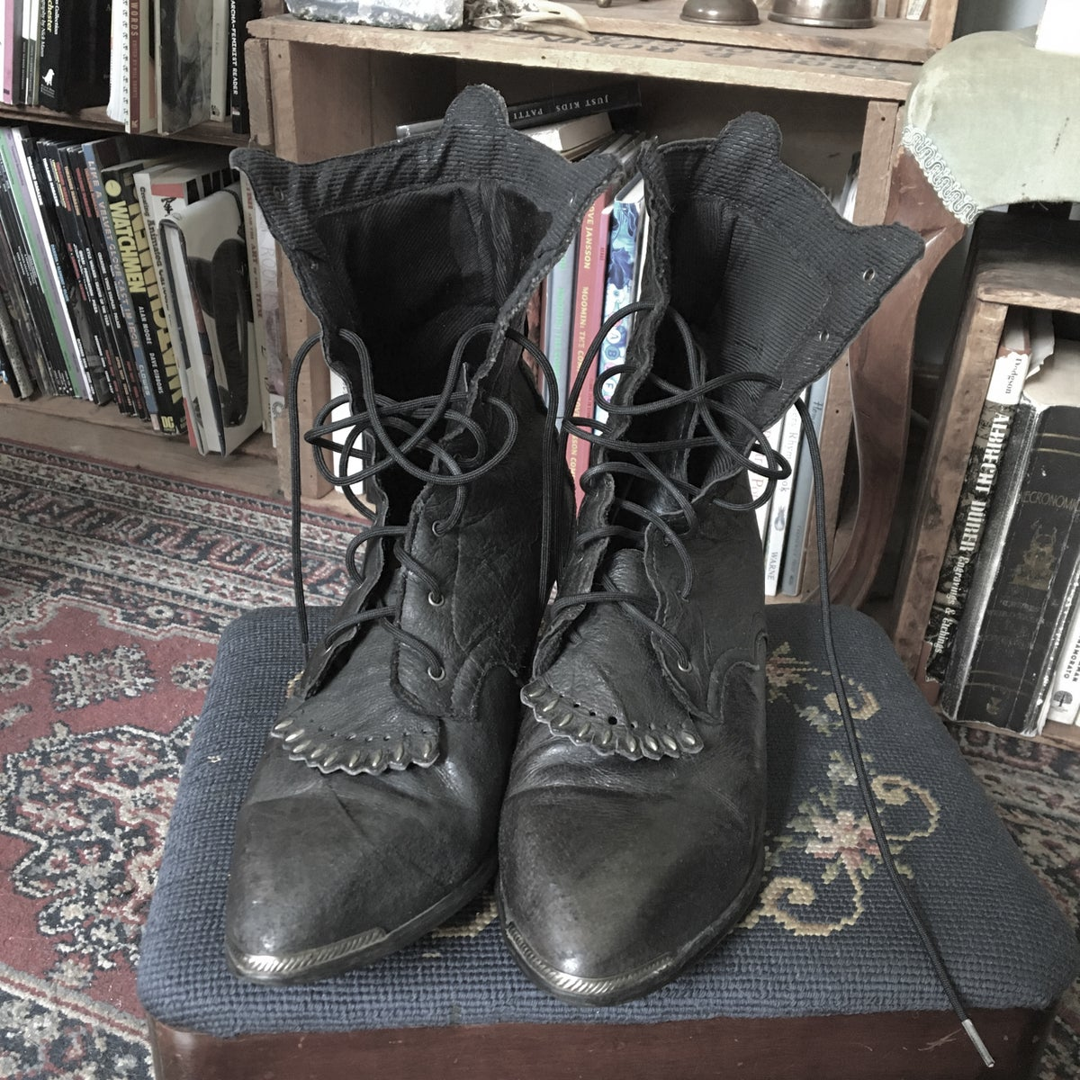 Image of Witchy Leather Boots