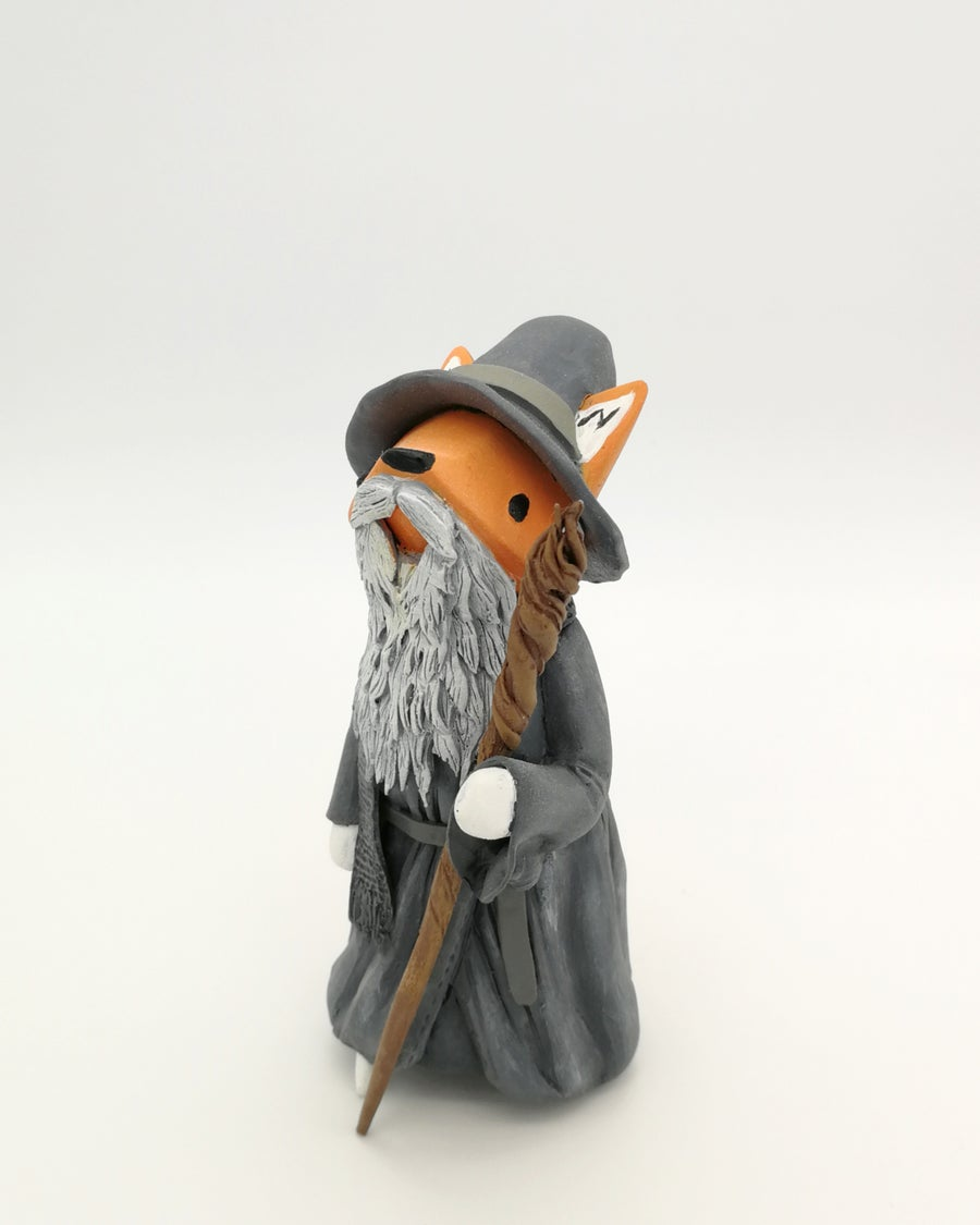 Image of Little Fox cosplay custom. Gandalf