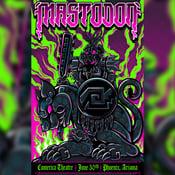 Image of Mastodon Phoenix Gigposter (Artist Edition)