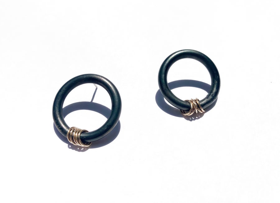 Image of O Ring Earrings