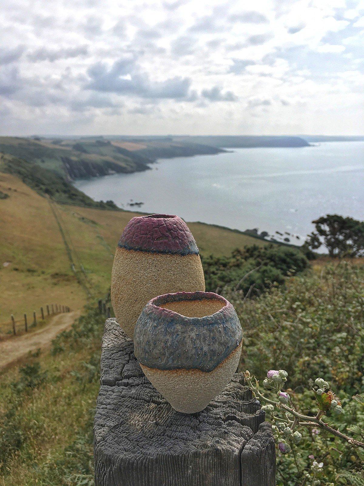 Image of Volcano Vase (Pale) 3