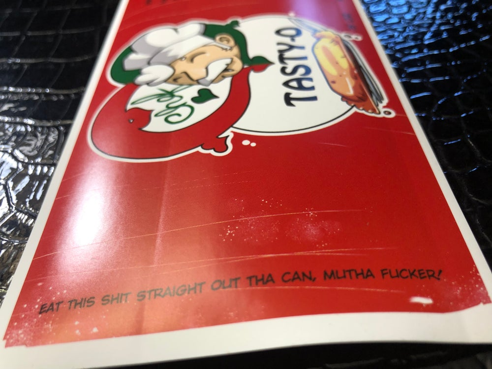 Image of Tasty-O Sticker