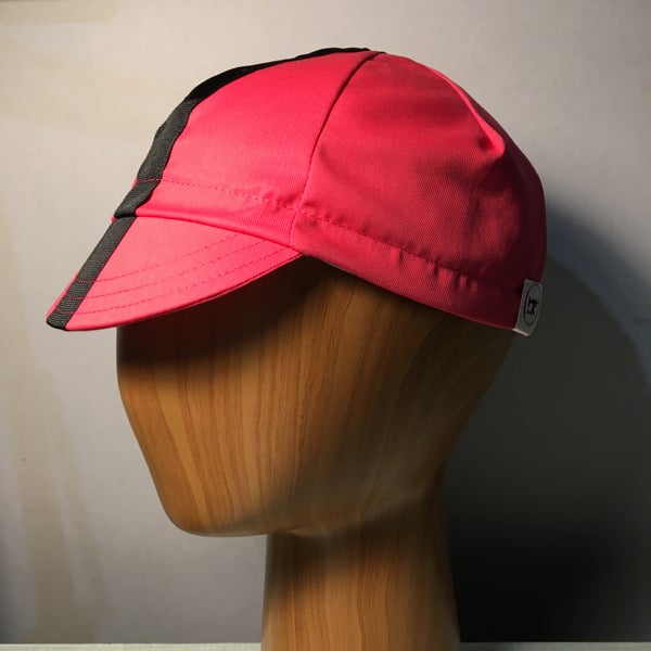 Image of Poly cotton twill cycling cap - pink!