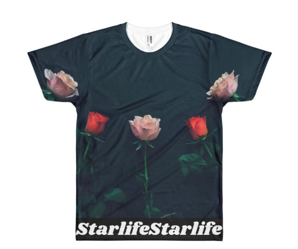 Image of Graphic Floral T-Shirt