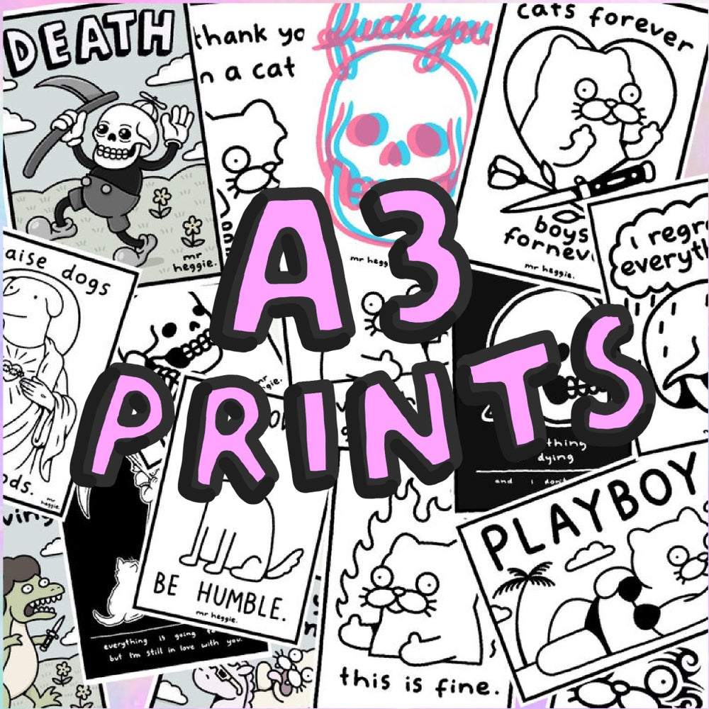 Image of The A3 prints