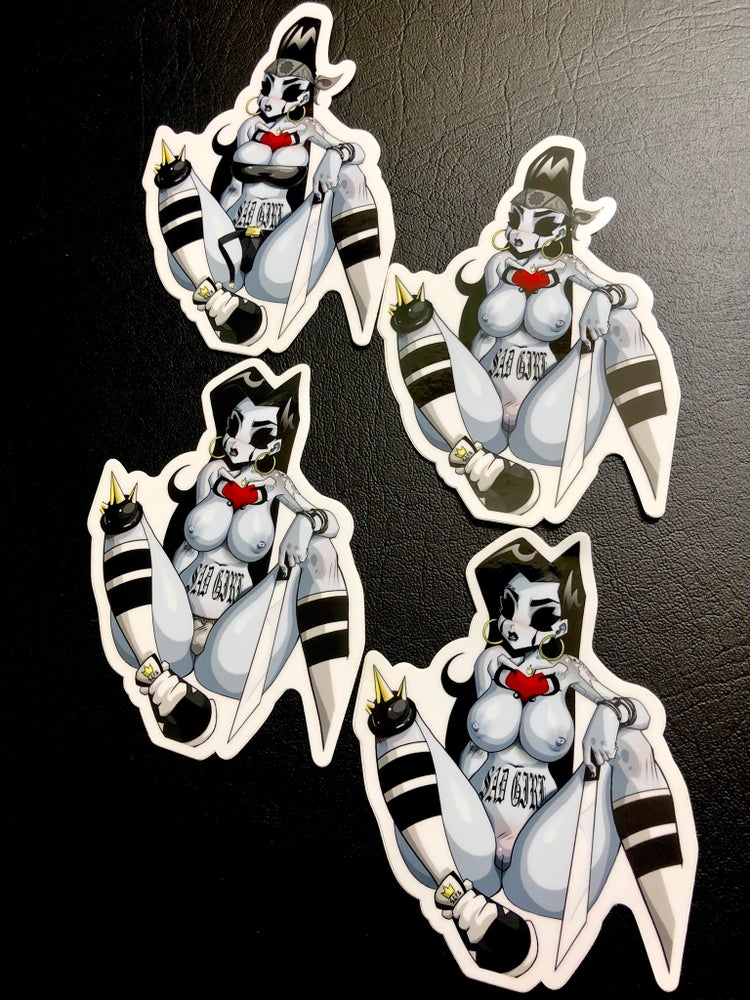 Image of Mendoza Stickers