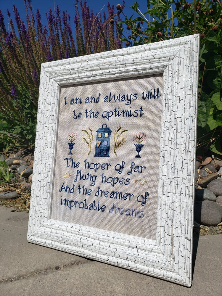 Image of The Optimist Dr Who Sampler - PATTERN PDF