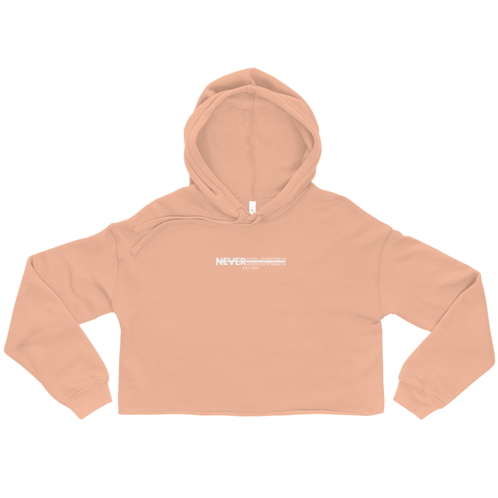 Image of NB Crop Hoodie (Blush)