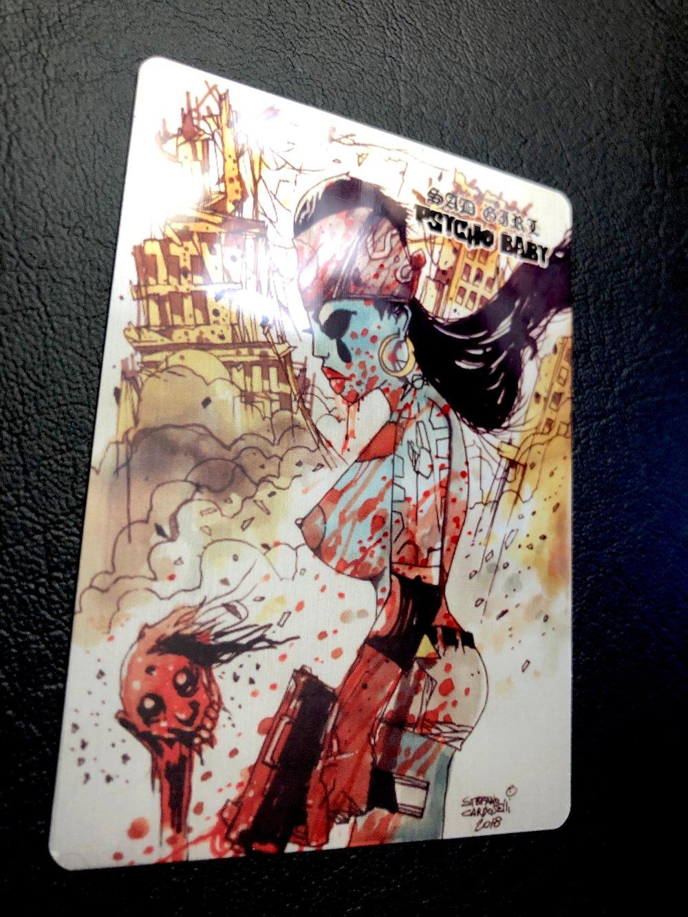 Stefano Cardoselli Metal Card