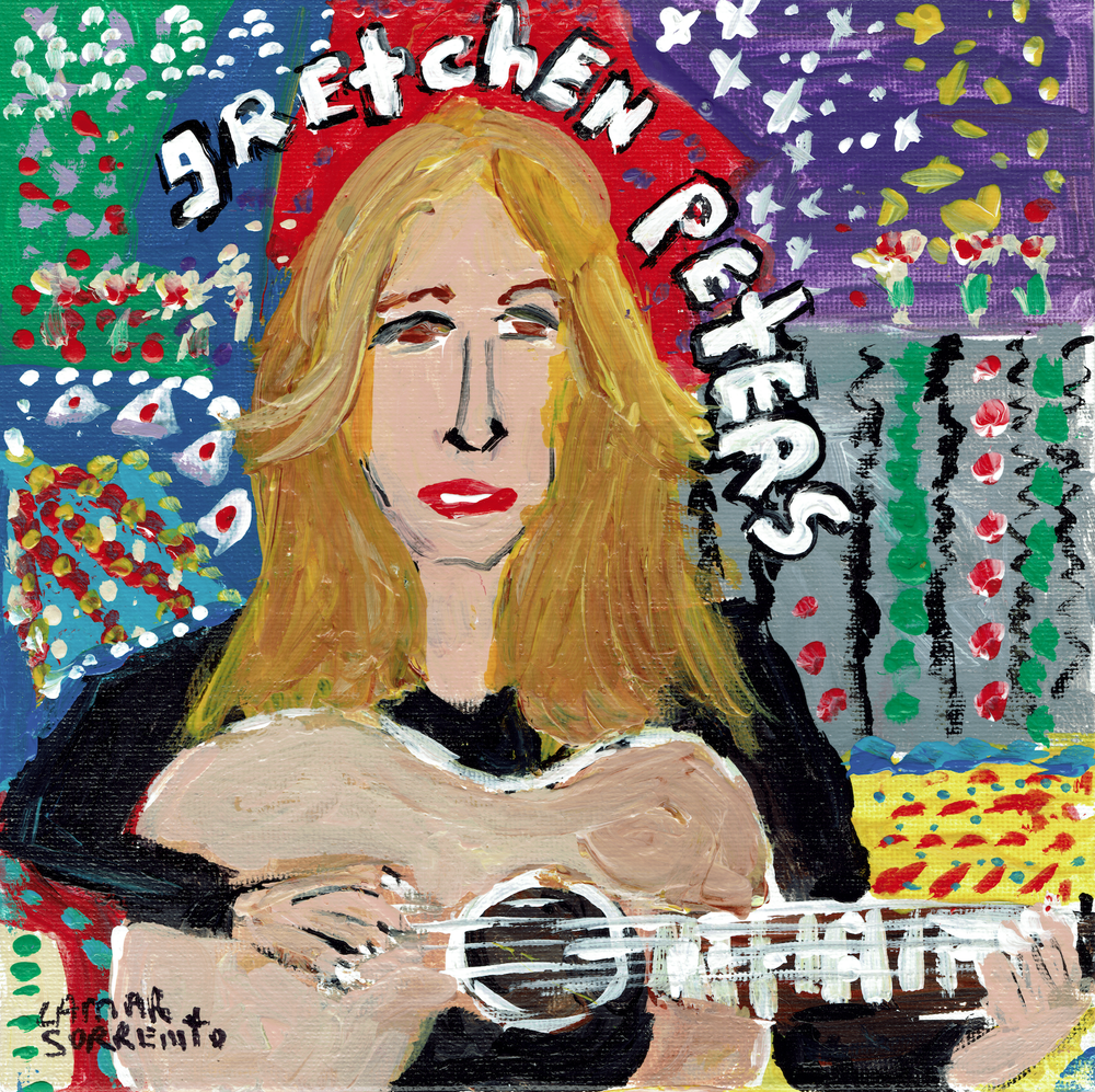 "Image of Gretchen Peters - The Last Day Of The Year b/w In Costanza's Kitchen (Opaque White 7"" Single)"