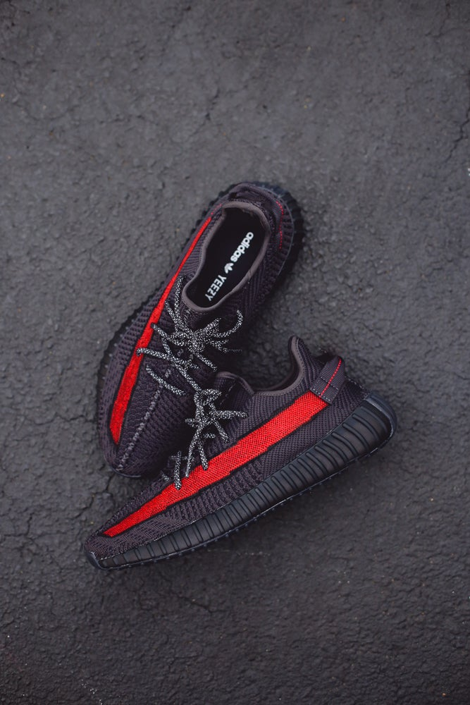 Image of Red stripe yeezy