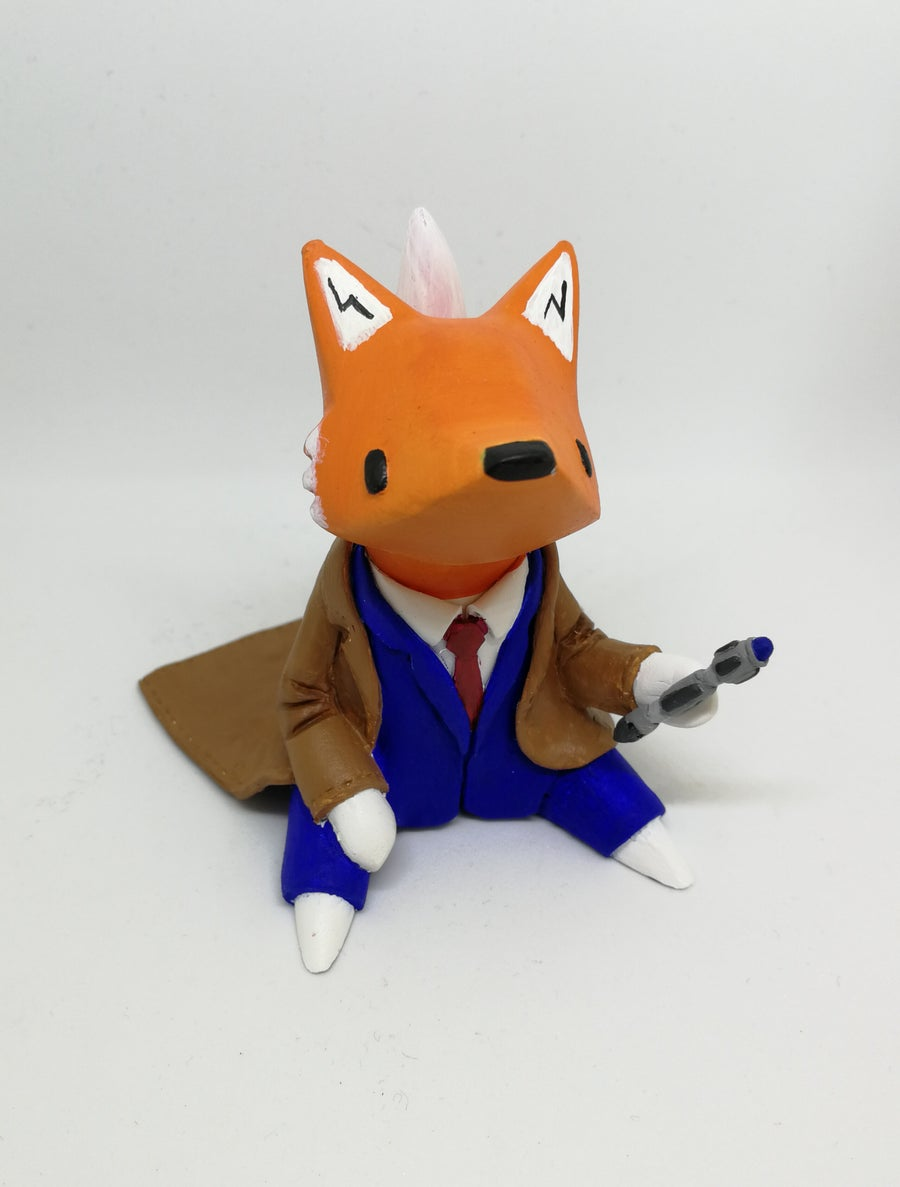 Image of Little Fox cosplay custom . Dr Who.