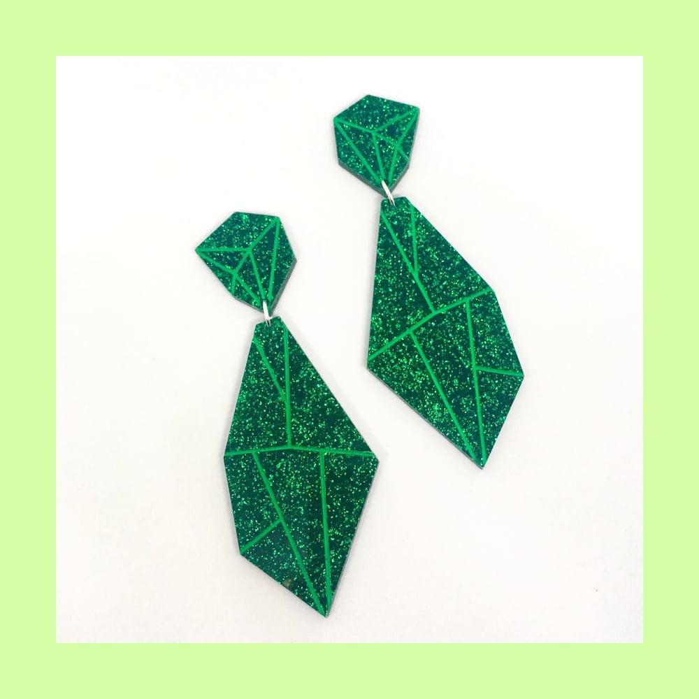 Image of Super Gems (Emerald Glitter)