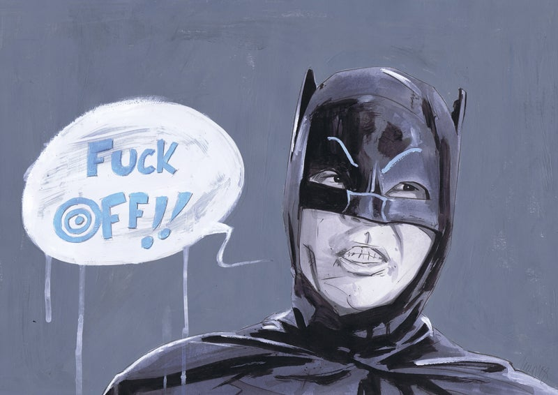 Image of Batman: F* Off!