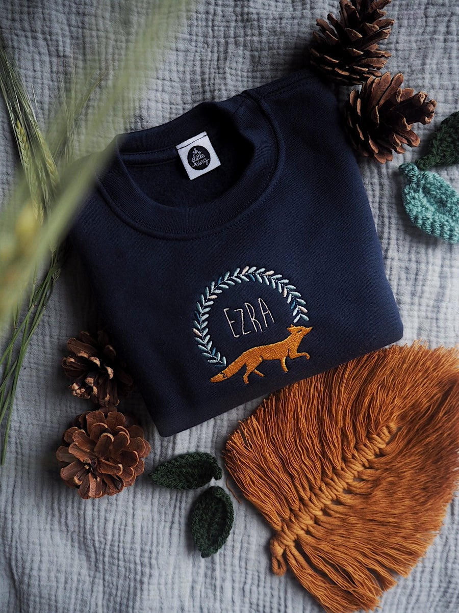 Image of Woodlands Fox name sweater