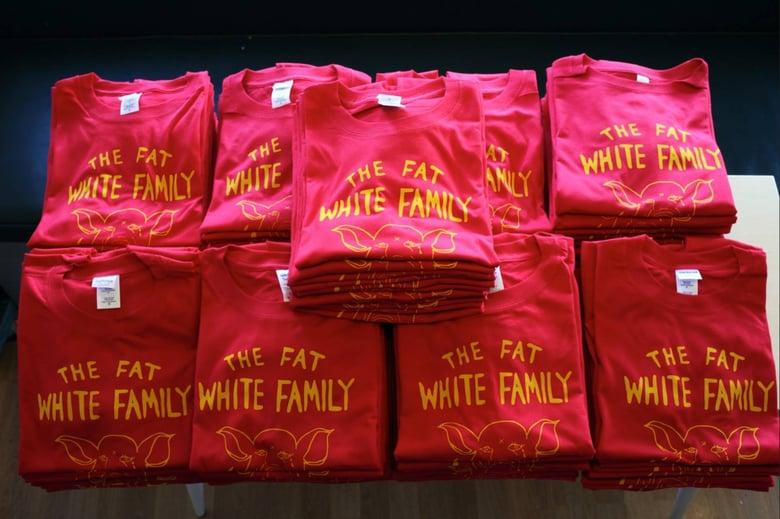 Image of Fat White Family Original Merch Tee Shirt