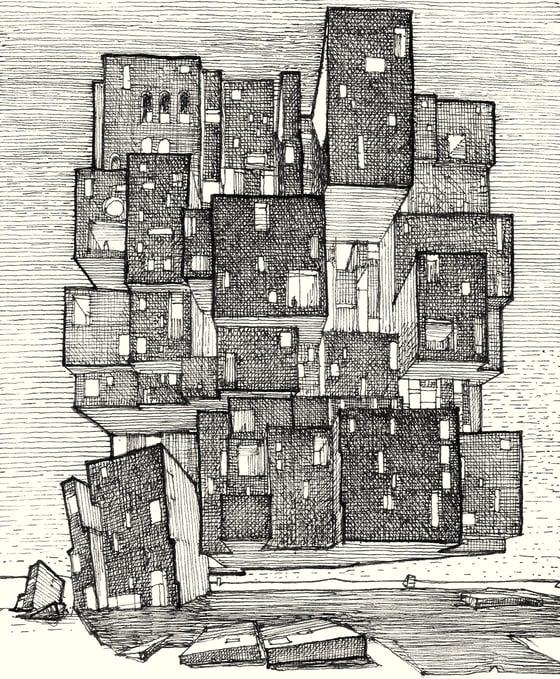 Image of Cityscape - density