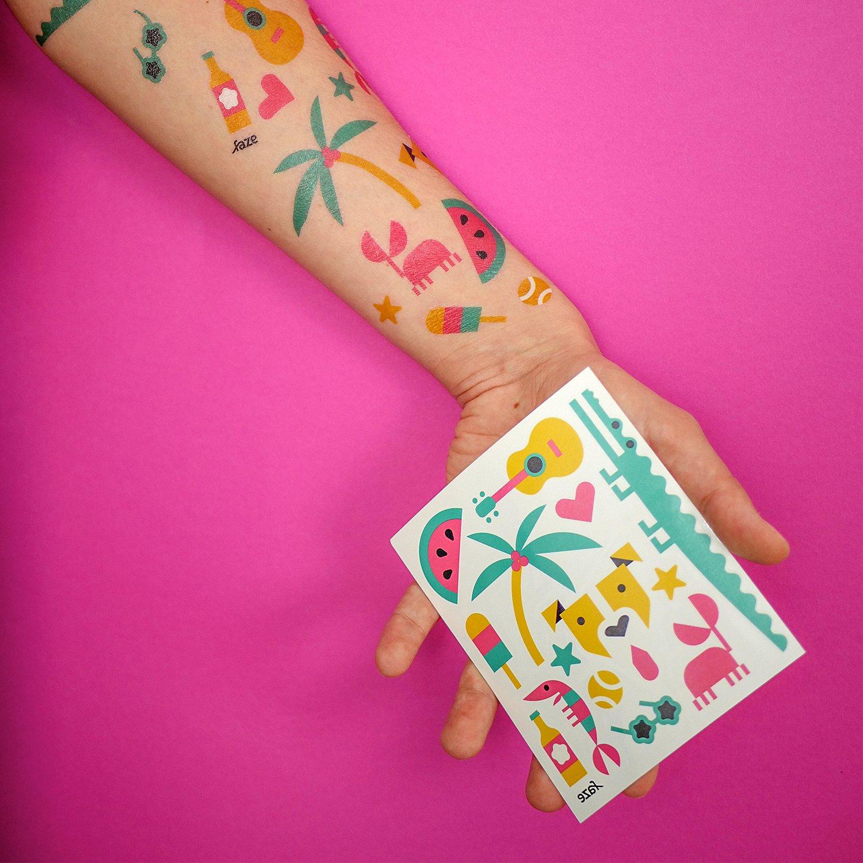 Image of Summer faze tattoos