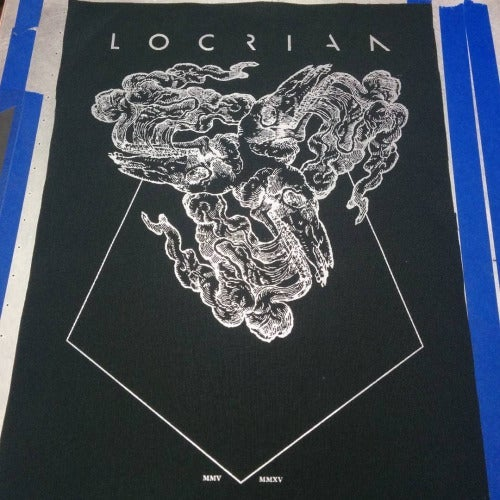 Image of LOCRIAN - Tour T-Shirts & Back Patch