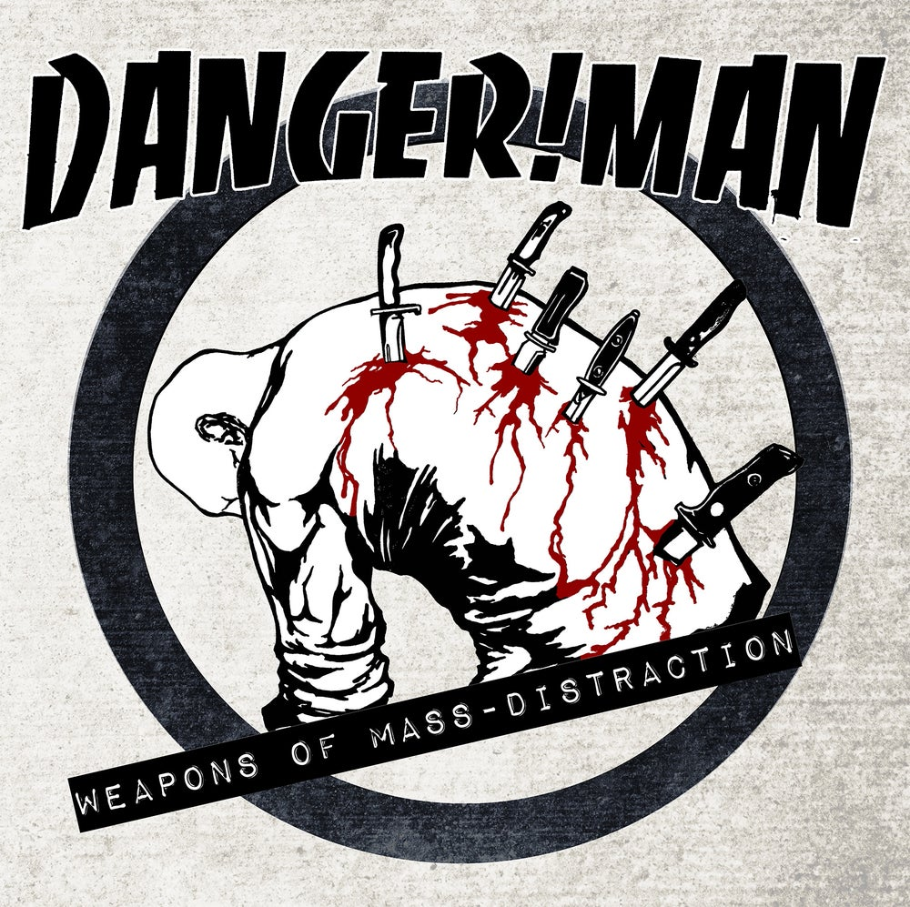 Image of DANGER!MAN - WEAPONS OF MASS-DISTRACTION LP with CD INCLUDED