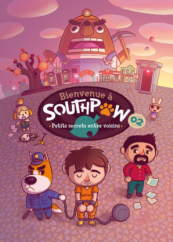 Image of Copy of Bienvenue à SouthPaw 02 - Petits sevrets entre voisins