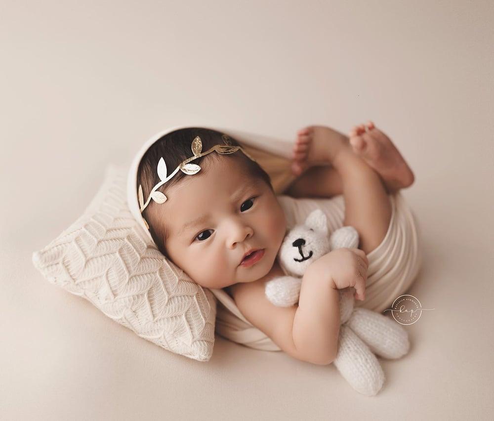 Image of Sawyer BabyPlush Backdrop - vanilla