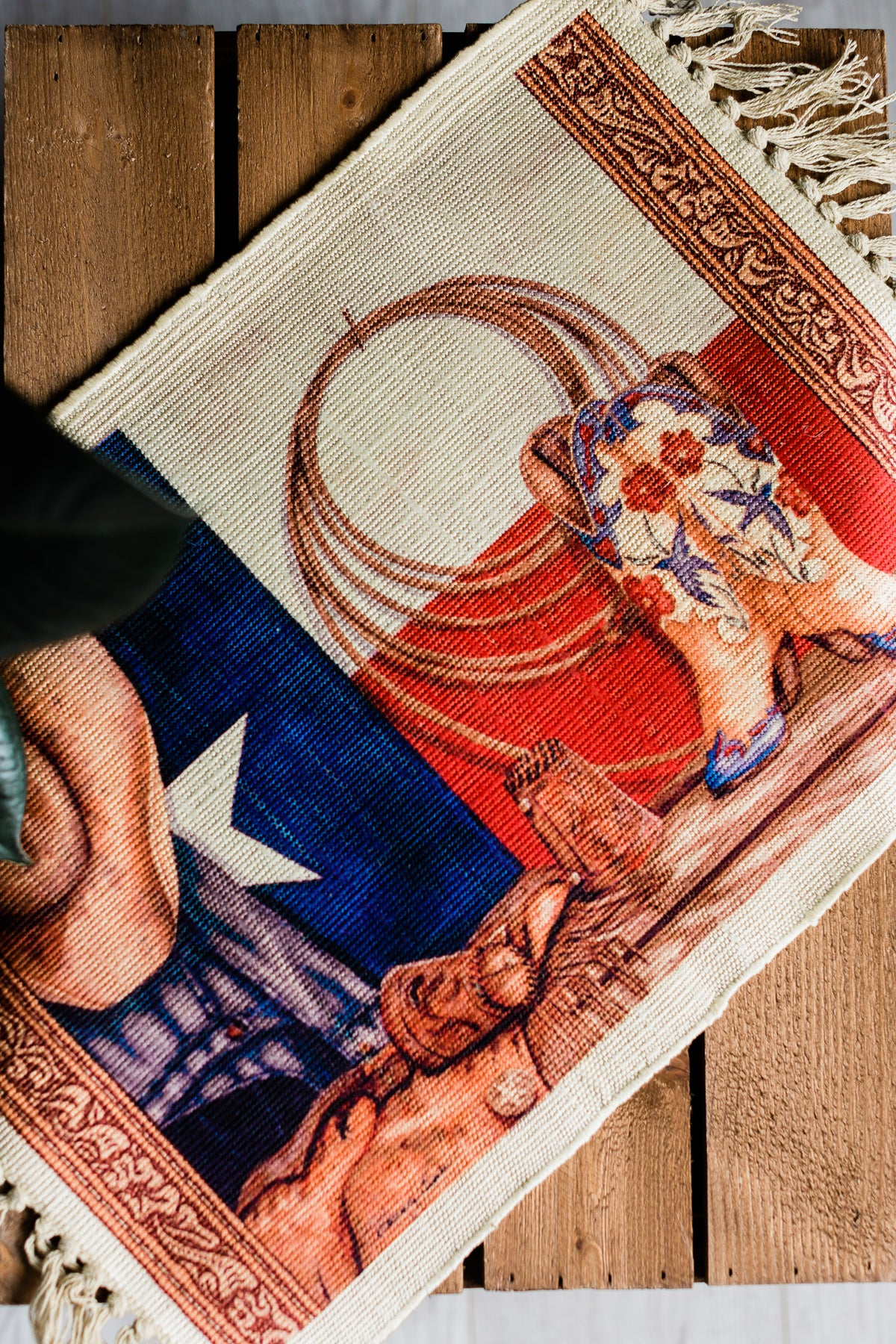 Image of Cowgirls Whip Placemat