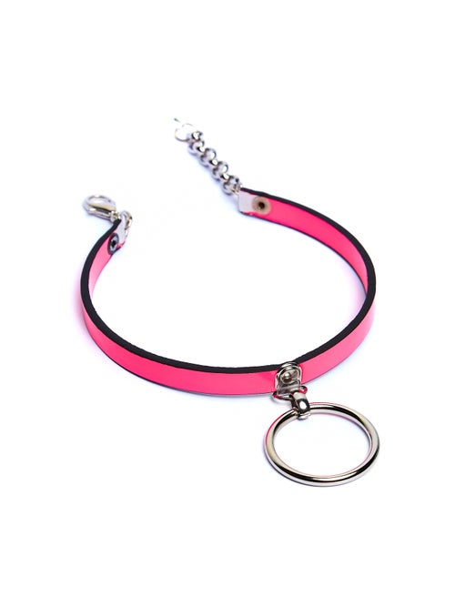 Image of LOVELY NEON PINK CHOKER