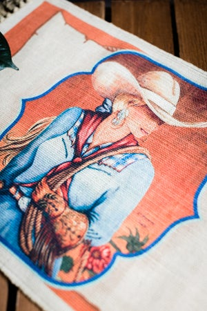 Image of Cowgirl Dolly Placemat