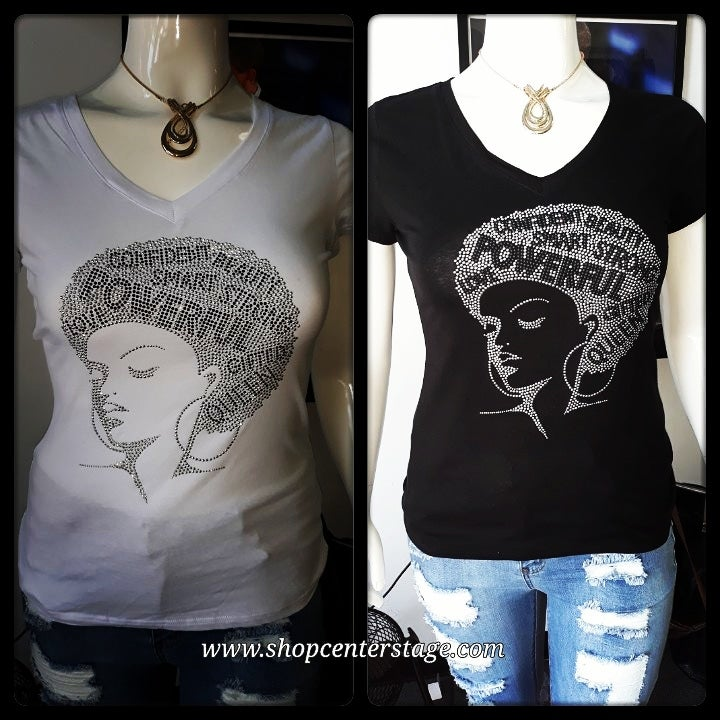 Image of Queen bling tshirt