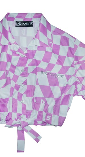 Image of Checkmate Shirt - Pink