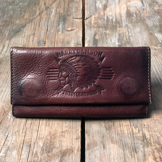 Image of HARRY DAMSON TOBACCO WALLET DARK BROWN