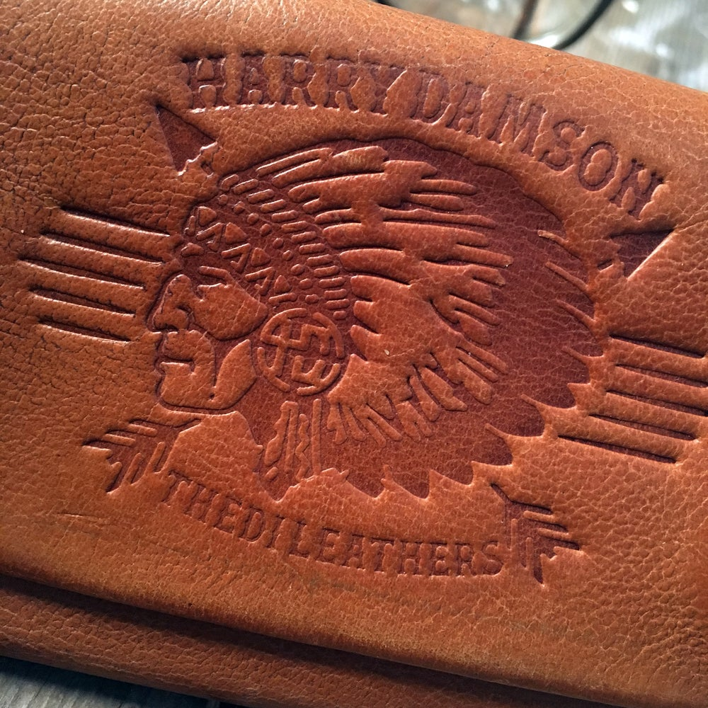 Image of HARRY DAMSON TOBACCO WALLET BUFFALO