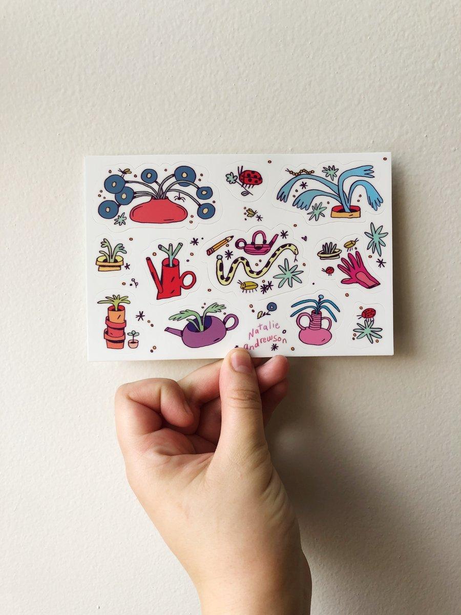 Image of Plant Sticker Sheet!