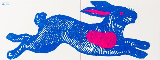 Image of Blue Rabbit