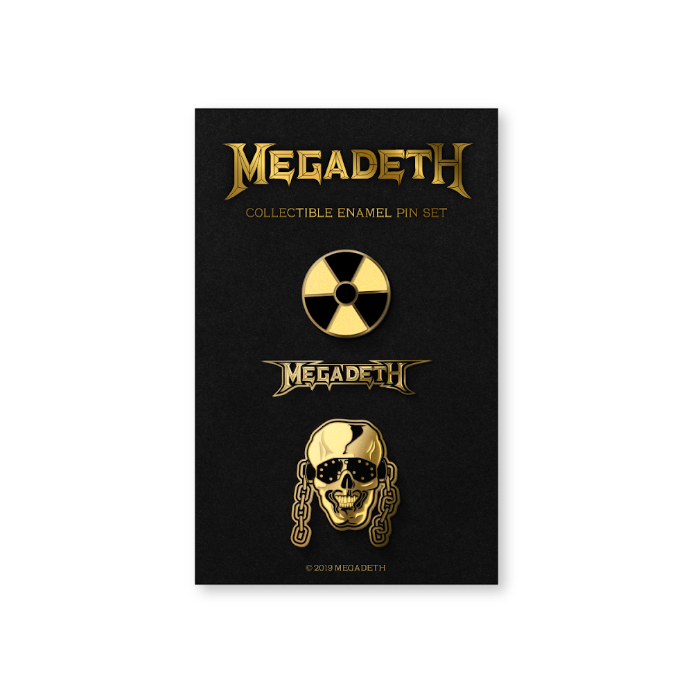 Image of Megadeth Enamel Pin Set