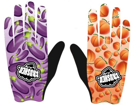 Image of EggPlant and Booty Peaches Gloves